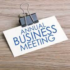 Annual Business Meeting 3 pm @ Williamstown Assembly of God